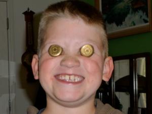 Tyler David, age 8